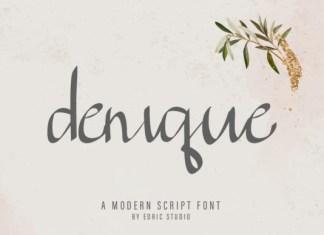 Denique Font