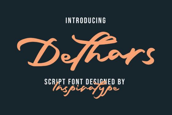 Dethars Font