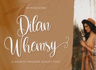 Dilan Whemsy Font