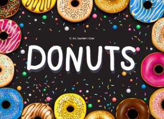 Donuts Font