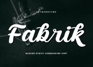 Fabrik Font