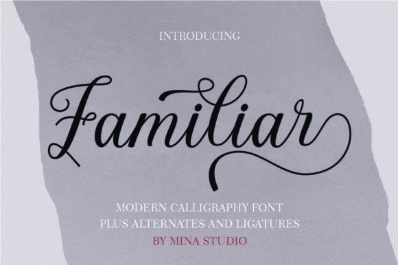Familiar Font