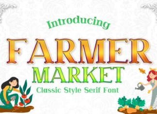 Farmer Market Font