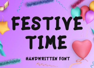 Festive Time Font