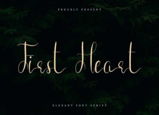 First Heart Font