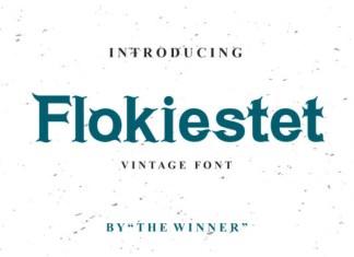 Flokiestet Font