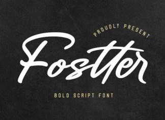 Fostter Font