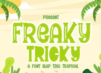 Freaky Tricky Font