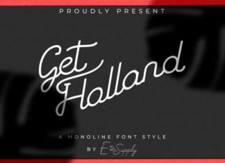 Get Holland Font