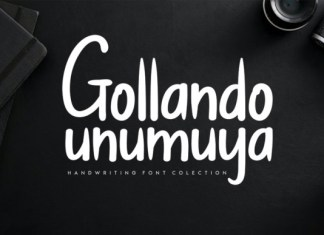 Gollando Unumuya Font