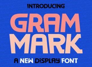 Gram Mark Font