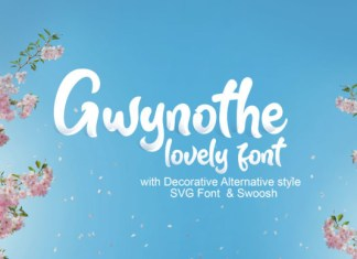 Gwynothe Font