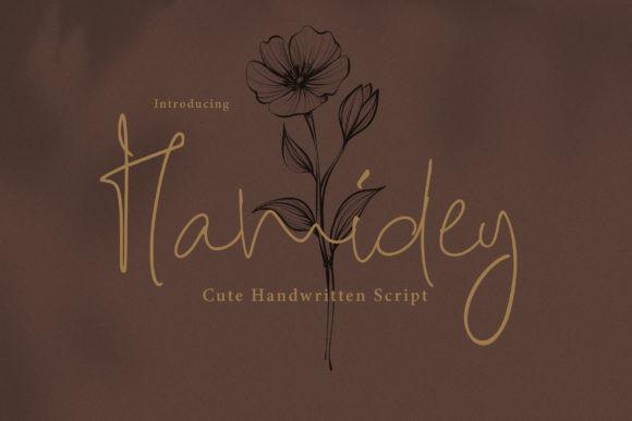 Hamidey Font