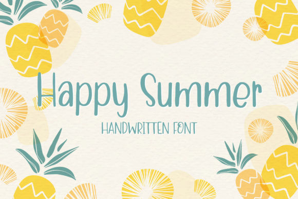 Happy Summer Font
