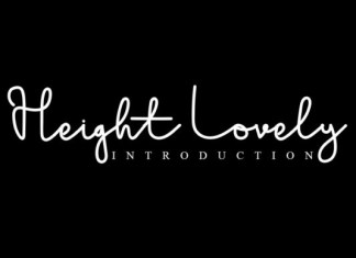 Heigh Lovely Font