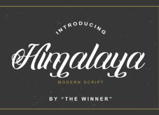Himalaya Font