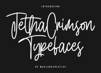 Jetha Crimson Font