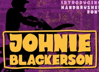 Johnie Blackerson Font