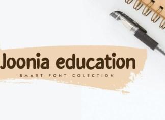Joonia Education Font