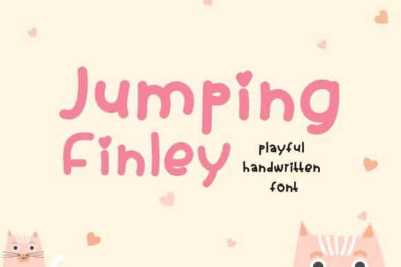 Jumping Finley Font