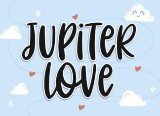 Jupiter Love Font