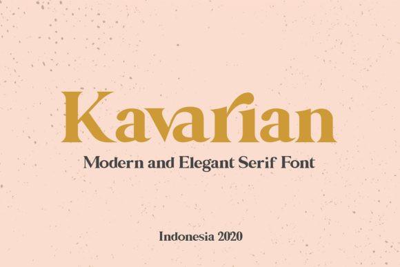 Kavarian Font