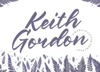 Keith Gordon Font