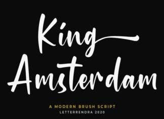King Amsterdam Font