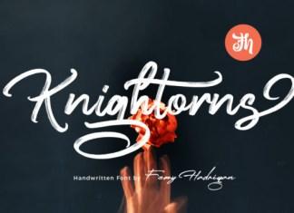 Knightorns Font
