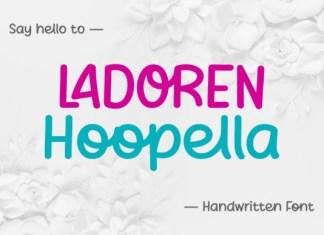 Ladoren Hoopella Font