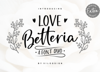 Love Betteria Font