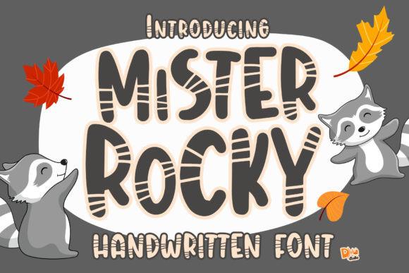 Mister Rocky Font