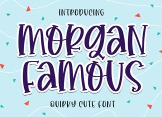 Morgan Famous Font