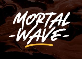 Mortal Wave Font