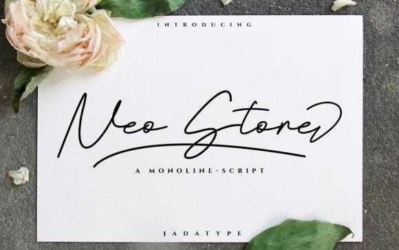 Neo Stone Font
