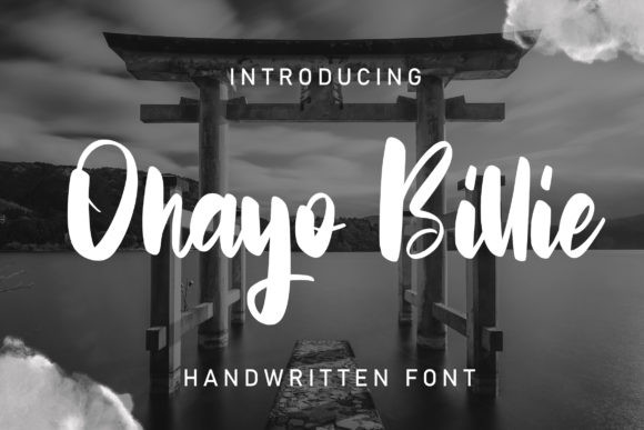 Ohayo Billie Font