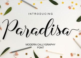 Paradisa Font