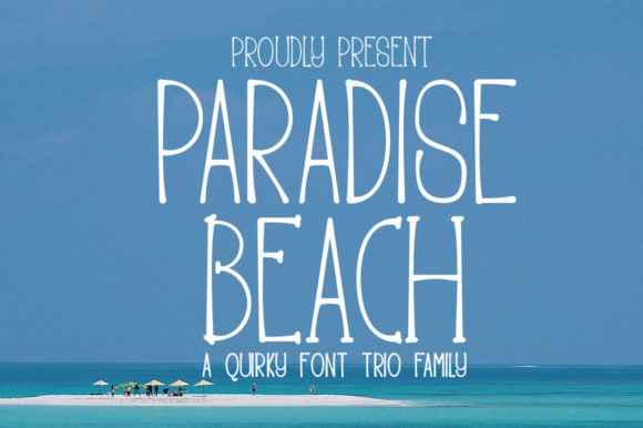 Paradise Beach Font