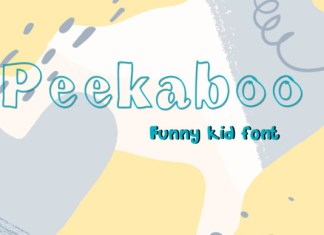 Peekaboo Font