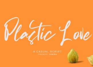 Plastic Love Font
