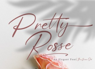Pretty Rose Font