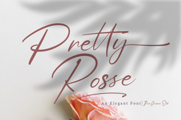 Pretty Rose Font