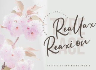 Reallax Reaxion Font