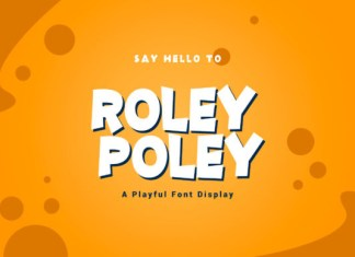 Roley Poley Font