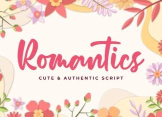 Romantics Font