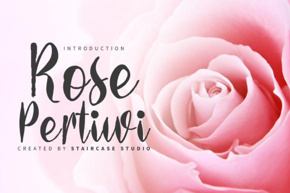 Rose Pertiwi Font