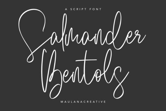 Salmander Bentols Font