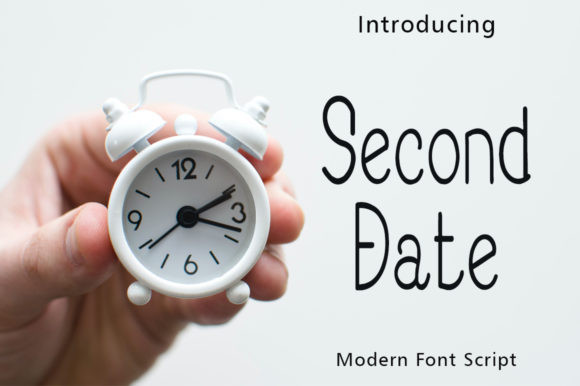 Second Date Font