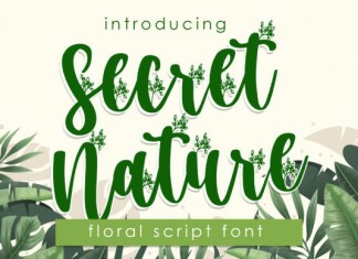 Secret Nature Font