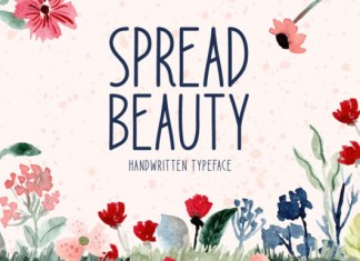 Spread Beauty Font